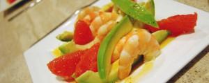 Avocats au pamplemousse