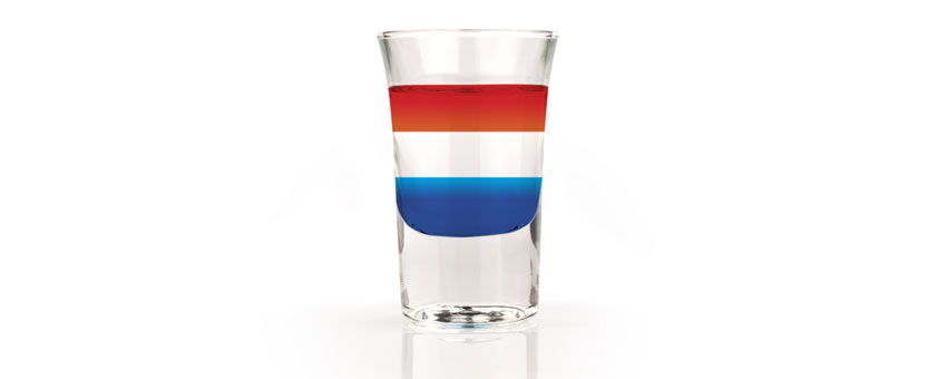 Cocktail french flag