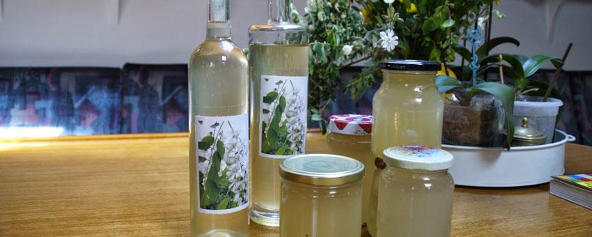 Liqueur fleurs d'acacia