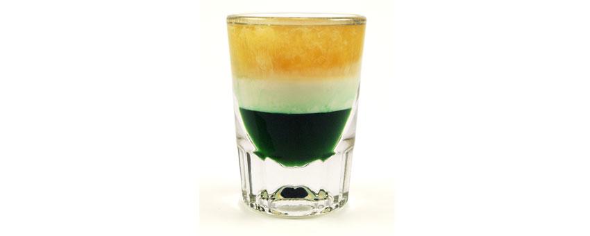 cocktail Irish Flag