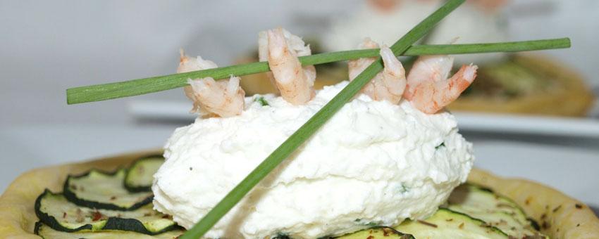 Quenelles au fromage de chèvre