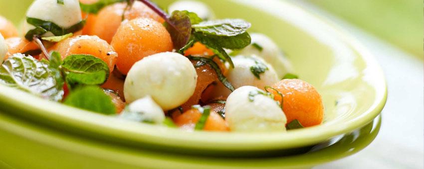 Salade bulgare de melon