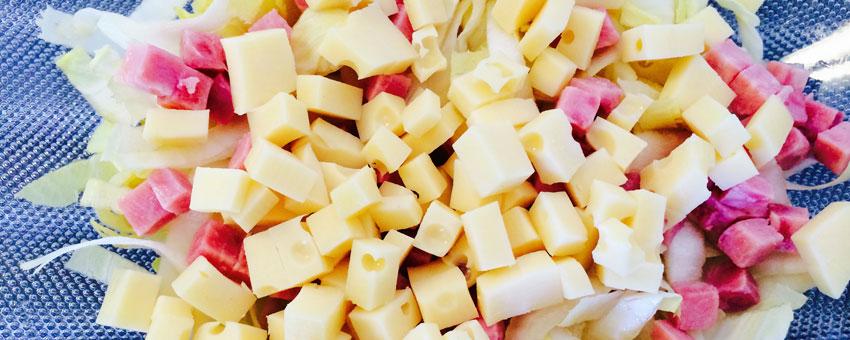 Salade de gruyère