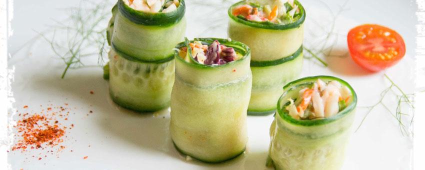 Salade de surimi aux deux radis