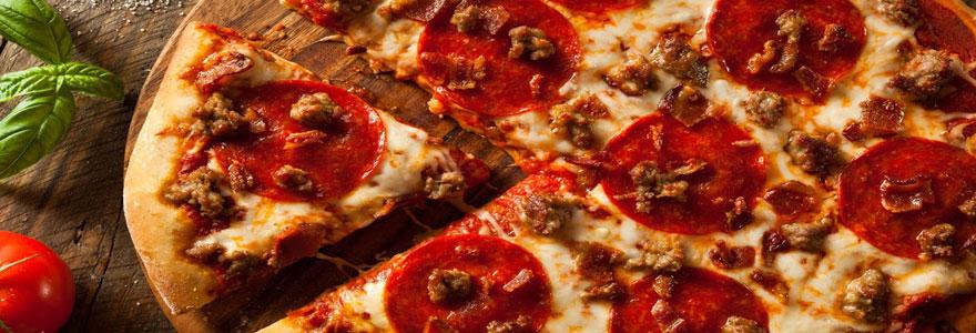 Commander des pizzas italiennes en ligne